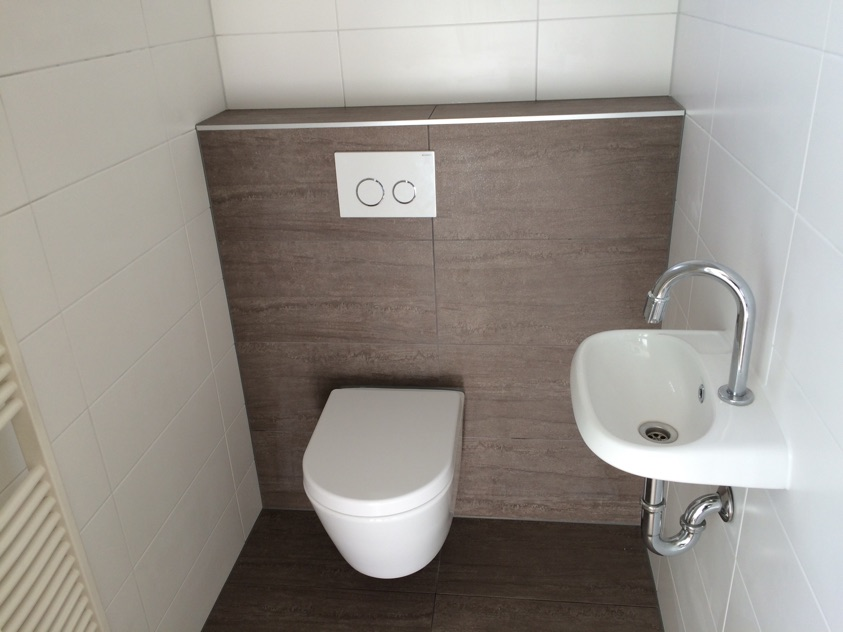 Toiletrenovatie in Emmeloord, gedaan door Multiservice Broenink in ...