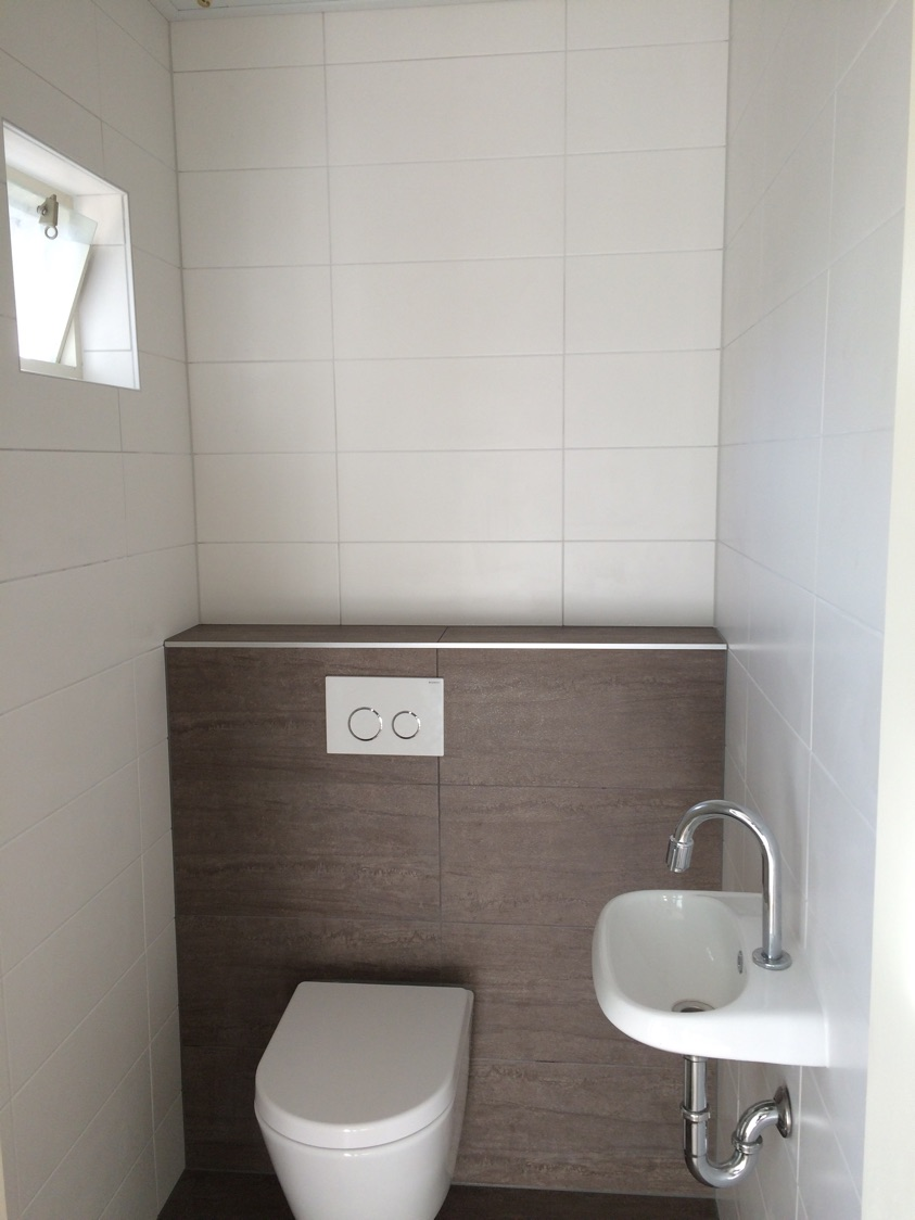 Toiletrenovatie in Emmeloord, gedaan door Multiservice Broenink in ...